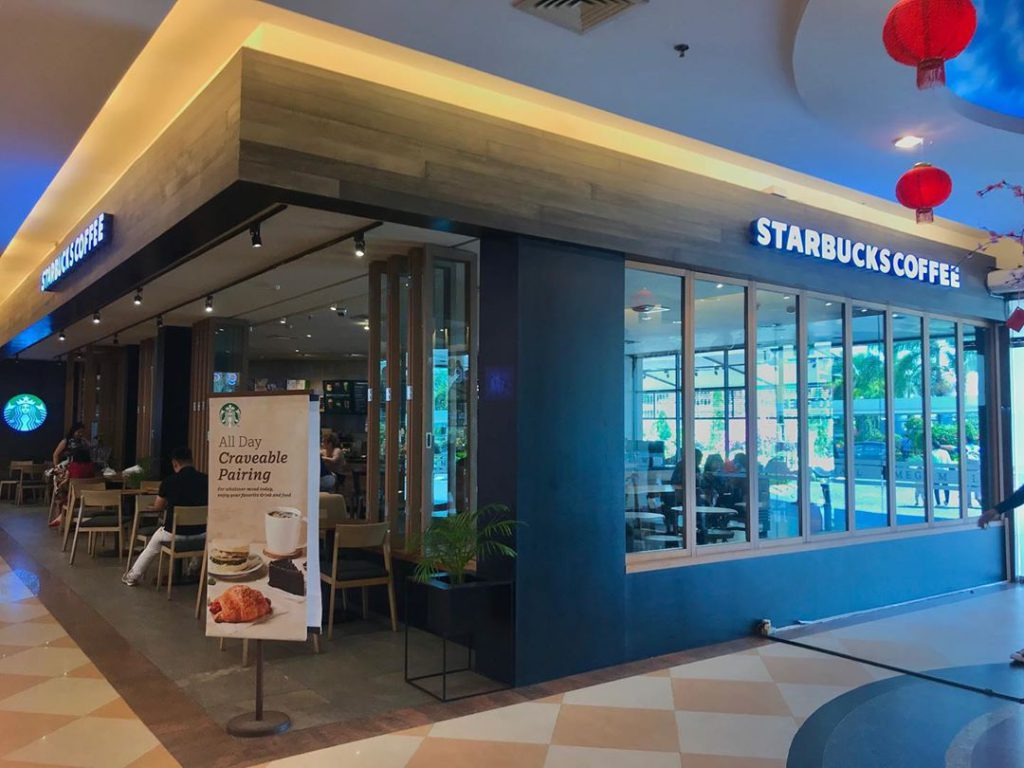 starbucks coffee mega mall batam